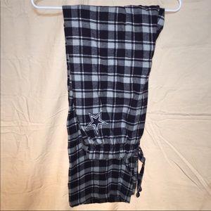 Men's Dallas Cowboys Flannel PJ Pants